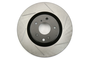 Stoptech Front Left Slotter Rotor w/OEM Brembo Brakes ( Part Number: 126.42076SL)