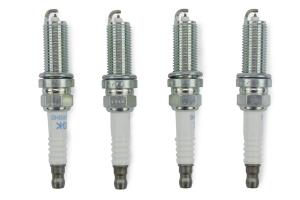 NGK Laser Iridium Stock Heat Range Spark Plug Set ( Part Number: ILKAR8H6-GRP)