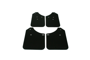 Rally Armor Basic Mud Flaps Black Logo  ( Part Number: MF1-BAS-BLK)
