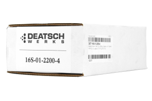 DeatschWerks Fuel Injectors Top Feed 2200cc ( Part Number:DET 16S-01-2200-4)