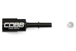 COBB Tuning Billet Fuel Line Adapter 5/16-8mm ( Part Number: 300100)