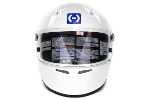 HJC AR-10 II Helmet Snell SA2010 Medium White ( Part Number: 2WM10)