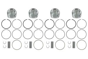 Manley Performance Platinum Series Piston Set 85m 8.5:1 / 9.0:1 ( Part Number: 606000C-4)