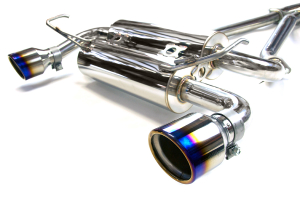 Invidia Gemini Titanium Rolled-Tip Cat Back Exhaust ( Part Number:  HS02N3ZGID)