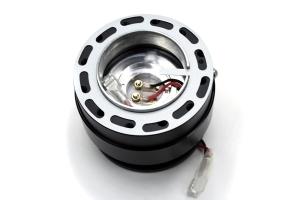 Splash Steering Wheel Quick Release Rapfix Black ( Part Number:SPL XPRS-BLS002BB)