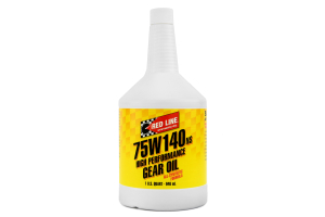 Red Line 75W140 NS GL-5 Gear Oil 1 Quart ( Part Number: 57104)