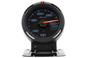 Defi White Racer Temperature Gauge Imperial 52mm 100-300F ( Part Number: DF06703)