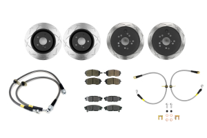 Complete Street Brake Kit 09-14 WRX ( Part Number:RSD 09-14WRXBRAKE)