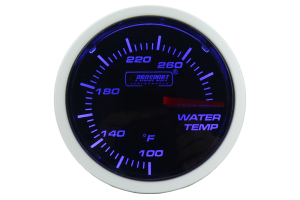 ProSport Performance Series Water Temperature Gauge ( Part Number: 216BFWBWTSM.F)