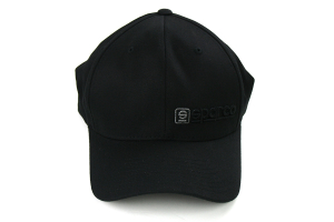 Sparco Hat Lid Black/Charcoal Small/Medium FlexFit Tuning ( Part Number: SP13NC)