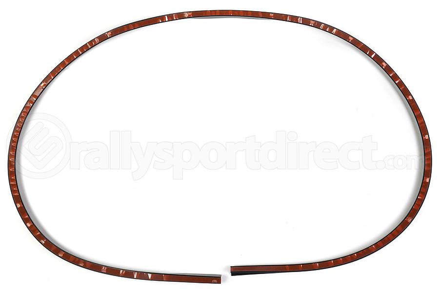 STI JDM V Limited Front Lip Spoiler Rubber Underskirt ( Part Number:STI ST960204S290)
