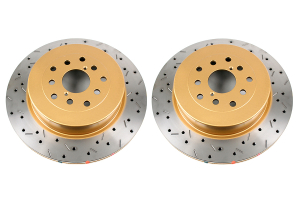 DBA 4000 Series Drilled/Slotted Rotor Pair Rear ( Part Number: 4655XSG)