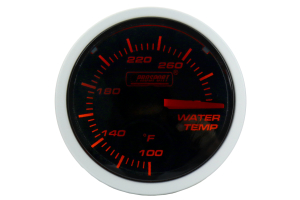 ProSport Performance Water Temperature Gauge ( Part Number: 216BFWAWTSM.F)