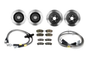 Complete Street Brake Kit 04-05 WRX ( Part Number:RSD 02-05WRXBRAKE)