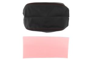JPM Coachworks Extended Armrest Black Leather w/ Red Stitching ( Part Number:  1207LBK-R)