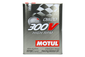 Motul 300V High RPM 0W20 Engine Oil 2.1qt ( Part Number:  104239)