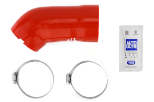 mountune High Flow Induction Hose Red ( Part Number:  2363-IH-RED)