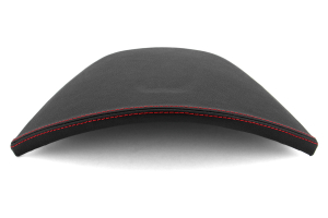 JPM Coachworks OEM Cluster Hood Black Simulated Ultraleather Red Stitching  ( Part Number: 1105VBK-R)