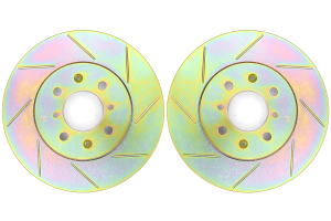 Brembo Sport Brake Rotor Pair Slotted Front ( Part Number: 33S60039)