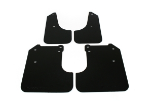 Rally Armor Basic Mud Flaps Black Logo  ( Part Number:RAL MF6-BAS-BLK)