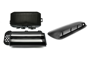 Process West JDM Hood Scoop Top Mount Intercooler Kit ( Part Number: PWJDMFXT)