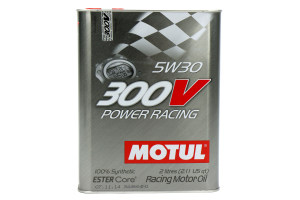 Motul 300V Power Racing 5W30 Engine Oil 2.1qt ( Part Number: 104241)