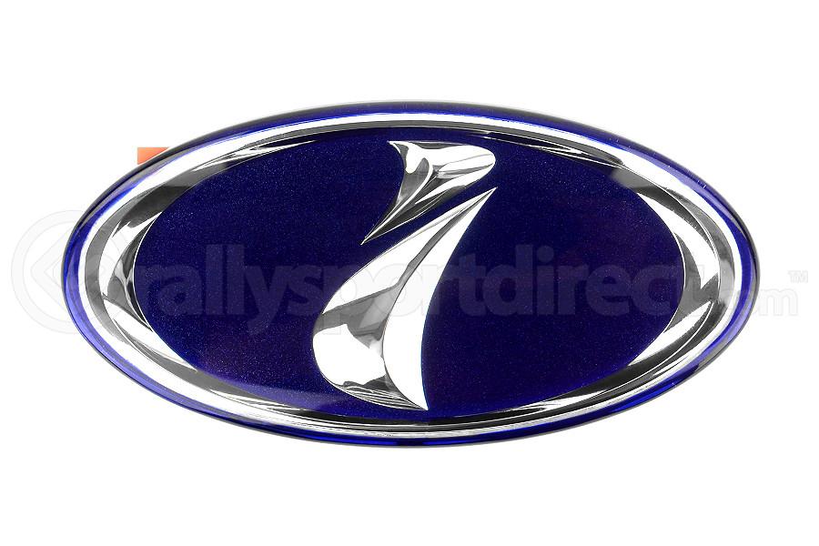 Sti Jdm I Impreza Badge Blue Subaru Wrx Sti 2004 2007