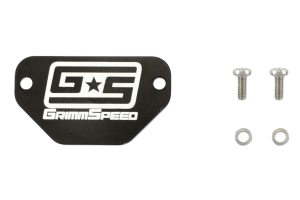GrimmSpeed MAF Block Off Plate ( Part Number: 053001)