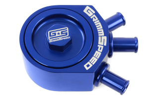 GrimmSpeed Air Oil Separator Blue  ( Part Number: 078006B)