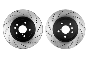 Stoptech Drilled Rotor Pair Front ( Part Number: 128.47021-GRP)
