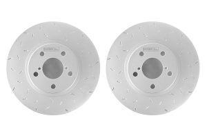 Hawk Quiet Slot Front Rotor Pair  ( Part Number: HUS730-G)