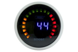 ProSport Digital Boost Gauge Electrical w/Sender Blue 52mm ( Part Number: PSBOLCD-NEW)