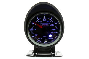 ProSport Boost Gauge Electrical w/Sender Green/White 52mm ( Part Number:  216SMWGBOSWL270-PK.PSI)