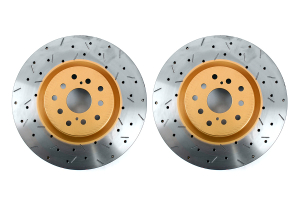 DBA 4000 Series Drilled/Slotted Rotor Pair Front ( Part Number: 4654XSG)