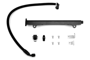 AMS Fuel Rail w/ Pulsation Damper Black ( Part Number: AMS.04.07.0006-2)