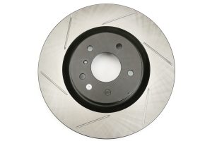 Stoptech Front Right Slotter Rotor w/OEM Brembo Brakes ( Part Number: 126.42076SR)
