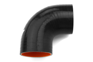 Mishimoto Silicone Elbow 90 Degree 2.5in Black ( Part Number: MMCP-2590BK)