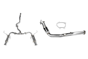 Turbo-Back Exhaust Stainless Steel Tip System 08-14 WRX/11+ STi Sedan ( Part Number:RSD SSTBS08-14SED)