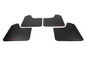 Rally Armor Basic Universal Mud Flap Red Logo ( Part Number: MF12-BAS-RD)