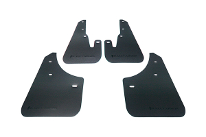 Rally Armor Basic Mud Flaps Black Logo  ( Part Number:  MF9-BAS-BLK)
