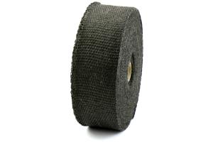 ProSport Fiberglass Heat Wrap 50ftx2in Roll w/5 Stainless Steel Zip Ties Black ( Part Number:  HEA-WRAP KIT BLK)