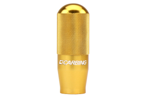 Carbing High Grip Shift Knob Gold M12x1.25 ( Part Number: 321 120 3)