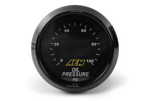 AEM Oil/Fuel Pressure Gauge Digital 52mm ( Part Number: 30-4401)