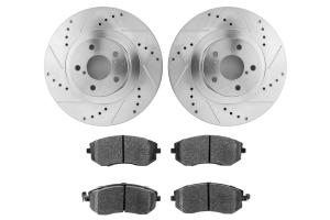 Hawk Performance Rotors w/ HPS 5.0 Pads Kit Front ( Part Number:  HK5339.432B)