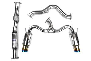 Inv Hs08stigtt Invidia N1 Cat Back Exhaust Titanium Tip