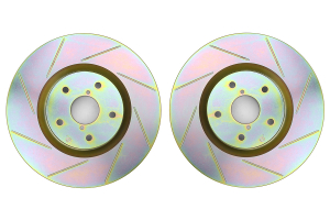 Brembo Sport Brake Rotor Pair Slotted Front ( Part Number: 33S60126)