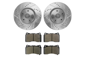 Hawk Performance Rotors w/ HPS 5.0 Pads Kit ( Part Number: HK4914.453B)