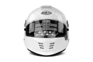 Sparco WTX-5W Helmet Snell 2010 / FIA 8858 White (Multiple Sizes) ( Part Number: 003305)