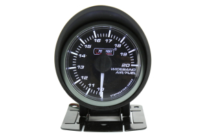 ProSport Wideband Air Fuel Ratio Gaugew/O2 Sensor Red/White 52mm ( Part Number: 216SMWAAFRWNCL-WO-SF)
