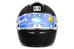 HJC Si-12 Helmet Snell SA2010 Medium Black ( Part Number: 6BM10)